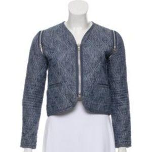 Alexander Wang Convertible Cropped Jacket